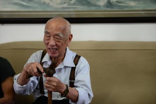 全口种植——93岁的黄泽民